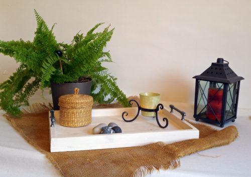 grand plateau de service en bois fabriqu en france. Black Bedroom Furniture Sets. Home Design Ideas